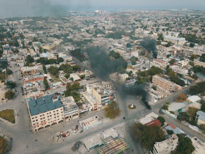 2e jour de grève à Port-au-Prince, 2 février 2021 - Transparans